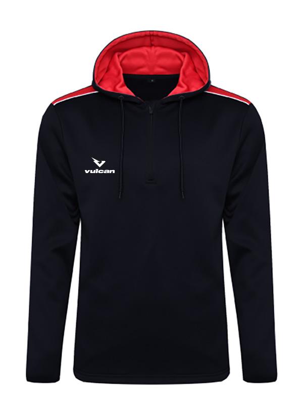 vulcan-sports-Heritage-Hoodie-Black-Red-front