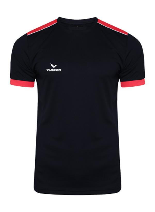 vulcan-sports-pro-t-shirt-Black-Red-front